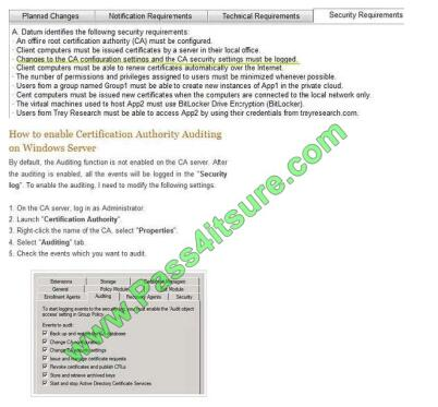 Pass4itsure 70-414 exams questions-q10