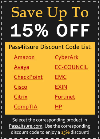 Pass4itsure discount code list 2021
